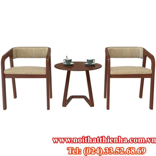Bộ bàn ghế khách sạn BKS06+ GKS06
