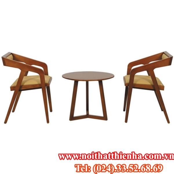 Bộ bàn ghế khách sạn BKS07+ GKS07