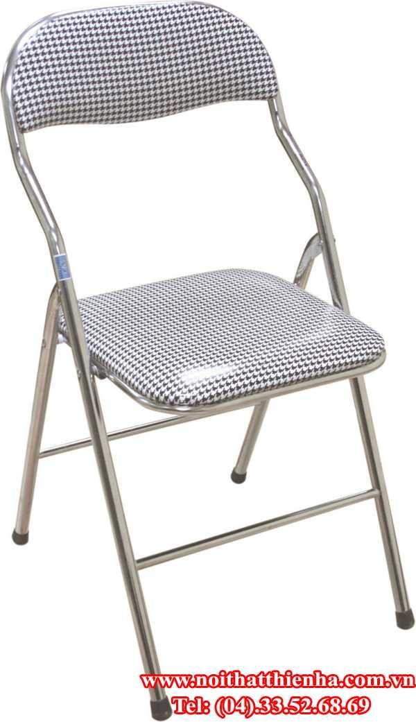Ghế gấp G01 chân mạ
