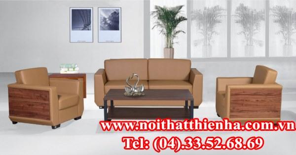 Sofa văn phòng SF37 da PVC