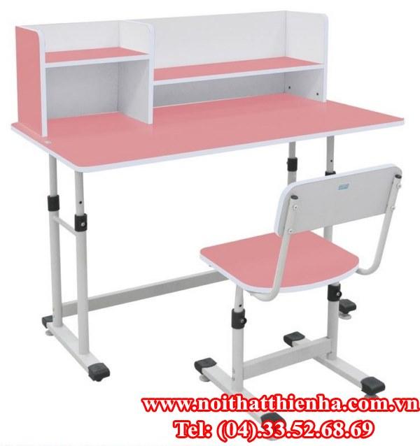 bộ bàn ghế học sinh xuân hòa bhs-13-07xg/hg