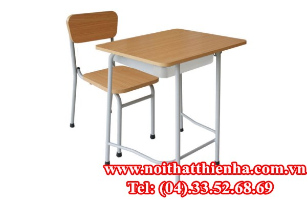Bộ bàn ghế học sinh BHS107HP4, GHS107-4