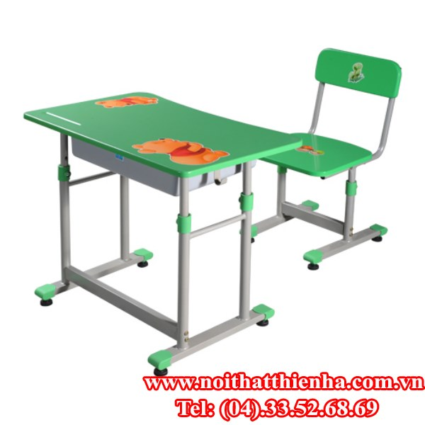 Bộ bàn ghế học sinh BHS28-2, GHS28