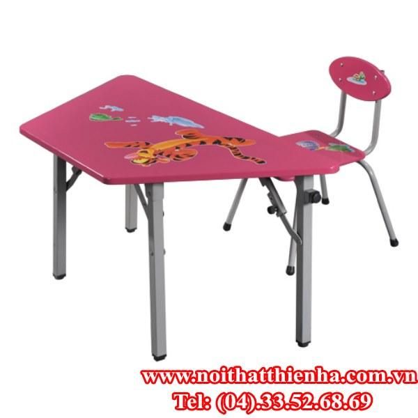 Bàn ghế mẫu giáo BMG104B, GMG104B