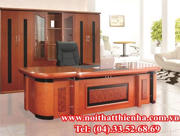 bộ bàn tủ lãnh đạo  hòa phát DT3212VM7, DC3246VN7