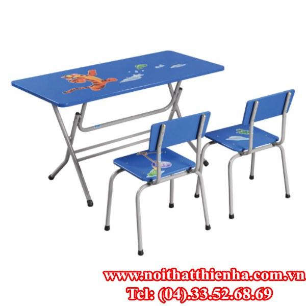 bộ bàn ghế mãu giáo BMG101B, GMG101B