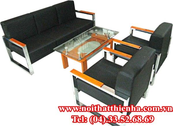 Bộ sofa SF80- da thật